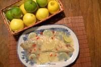 Gallos a la lima y el limón, receta paso a paso