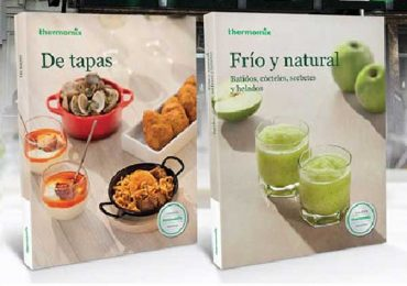 Dos nuevos libros de thermomix para alegrar nuestra cocina en verano.