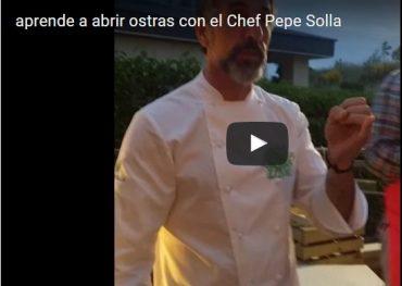 Técnica de cocina: aprende en un VÍDEO a abrir ostras con Pepe Solla
