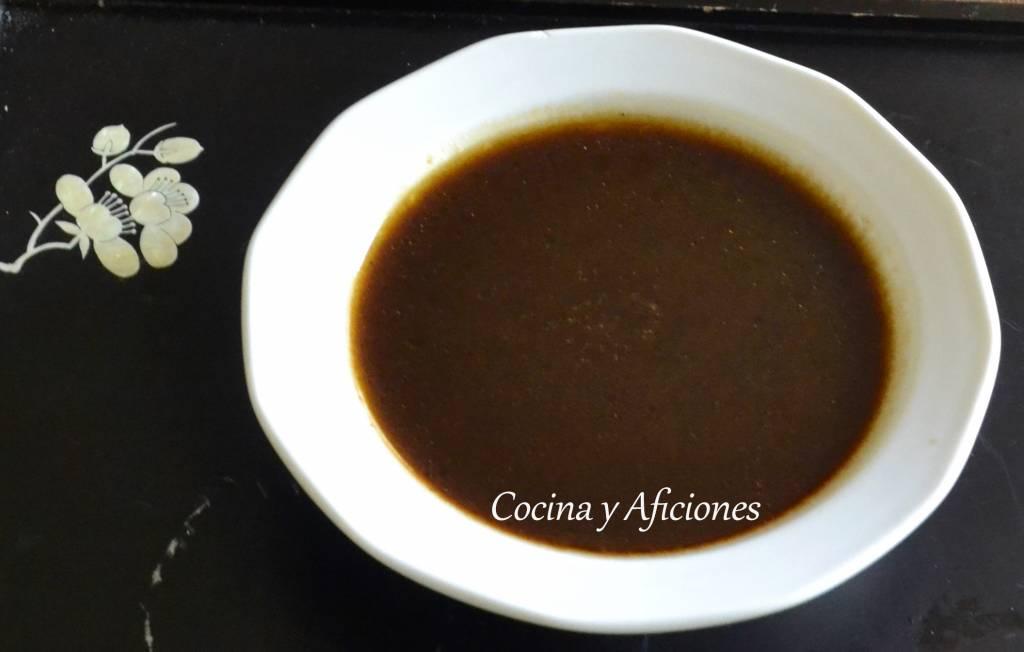 salsa de legumbres
