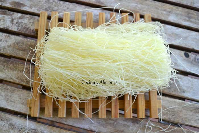 Ensalada de vermichelis con toque oriental receta paso a - Comodas orientales ...