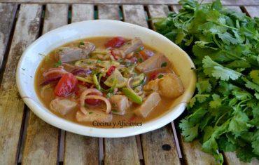 Salpicon de bonito en marinada oriental, receta paso a paso para cocinas del mundo