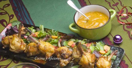 piruletas-de-pollo-con-salsa-de-mango-picante