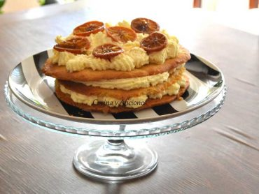 Tarta de mandarina, receta paso a paso.
