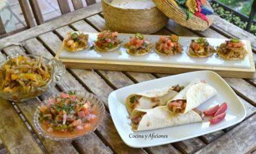 Tinga de carne, receta mexicana preparada con una antigua receta mexicana, paso a paso