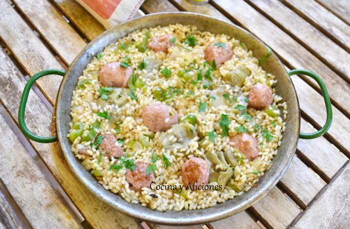 arroz-con-salchichas-frescas-2