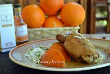Pollo al whisky, receta con #ingredientesecreto paso a paso.
