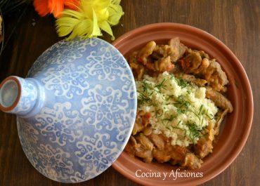 """Guiso de cordero a fuego lento con cuscús y frutos secos, receta """"slow food"""""""
