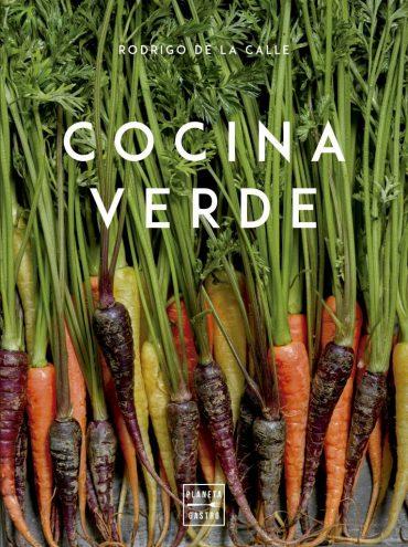 """""""Cocina verde""""el libro que te enseña a convertir una sencilla verdura en un manjar."""