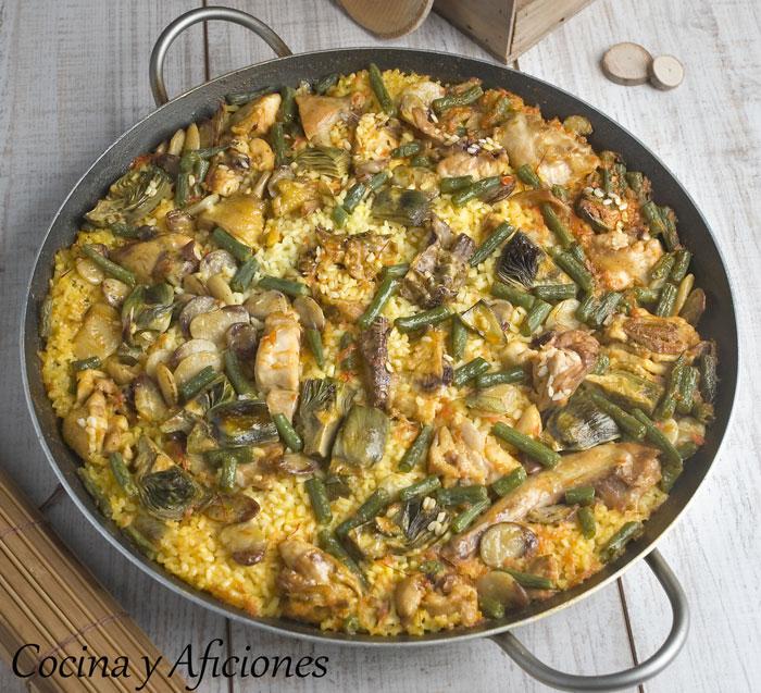 Cocina valenciana cocina y aficiones for Cocina valenciana