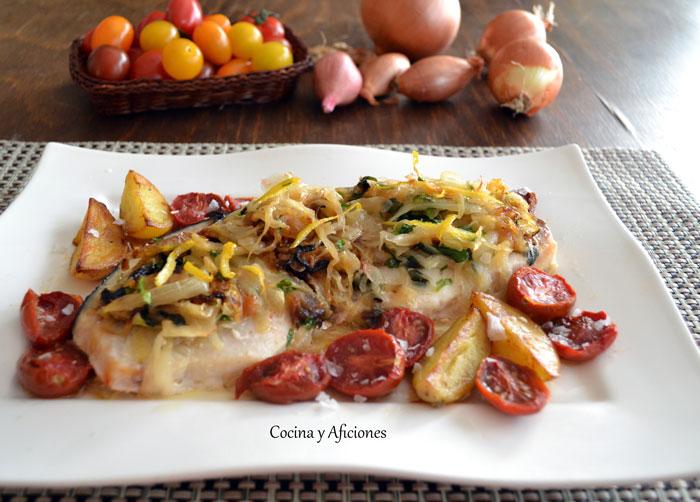 Como Cocinar Emperador | Emperador Encebollado Cocina Y Aficiones