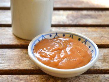 Salsa de melocotón, receta paso a paso