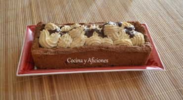 Tarta capuchino, receta paso a paso.
