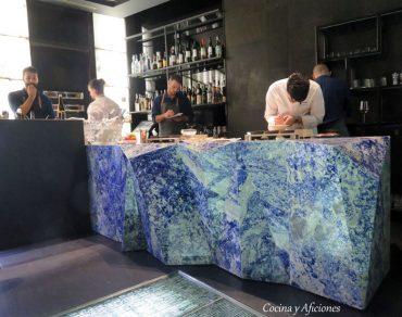 """Ángel León y el """"Glass Bar"""", no te lo puedes perder."""
