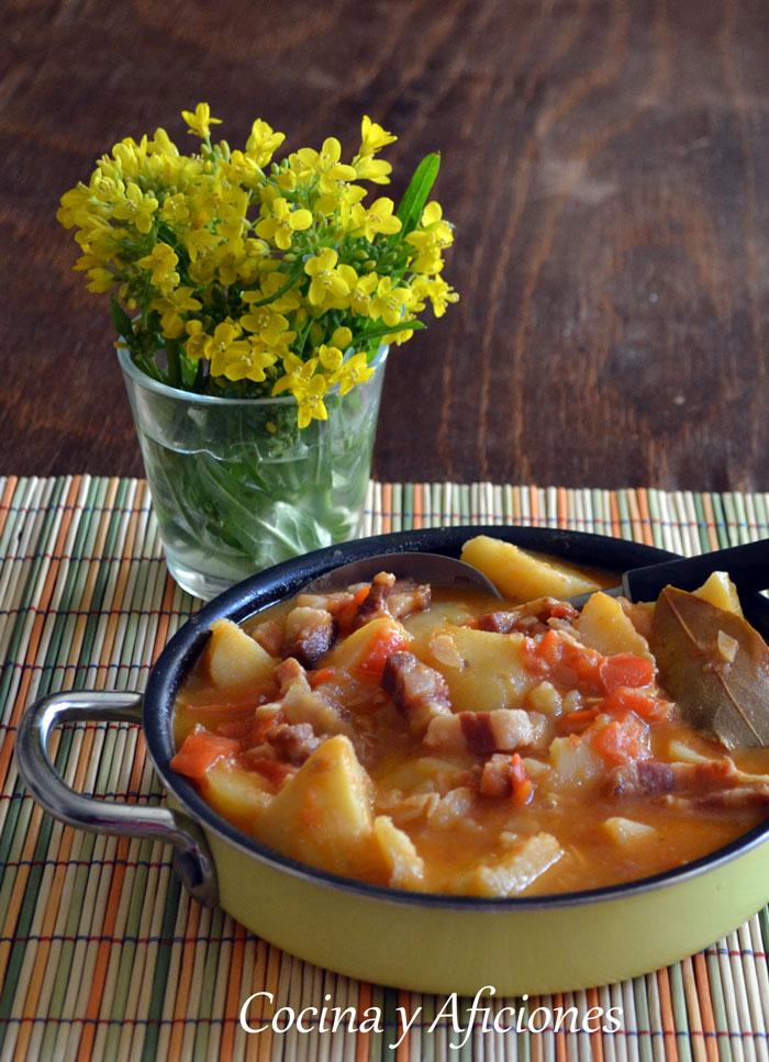 Patatas pastoras de arag n una receta muy t pica y for Rev diez minutos