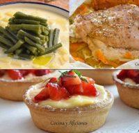Un menú delicioso, sencillo y económico para el próximo domingo.