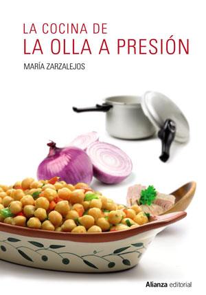La cocina de la olla a presión, una nueva edición del libro de María Zarzalejos.