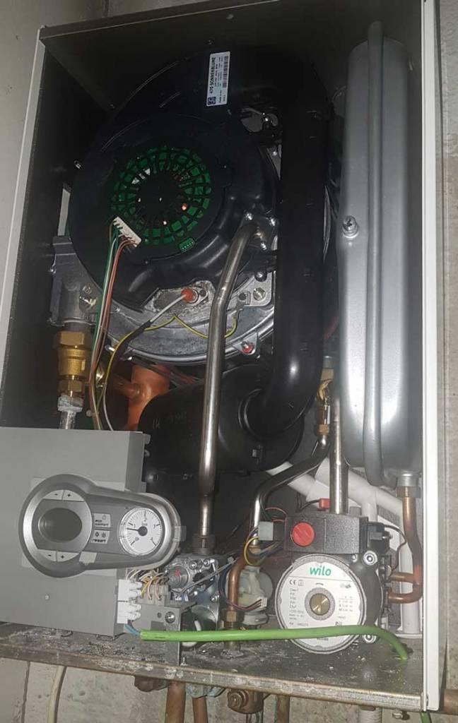 Caldera se enciende sola cheap top termostatos modulantes for Averia caldera roca