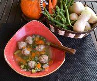 Groentesoep o sopa de verduras holandesa