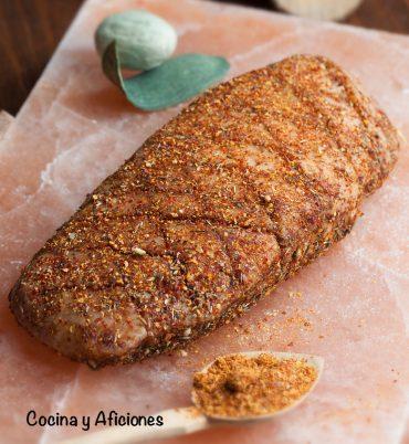Magret de pato curado con pimienta de espelette, receta