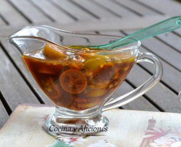 Salsa de soja tuneada con cítricos, un aderezo diferente.