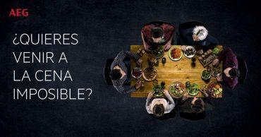La cena imposible de Diego Guerrero y AEG.
