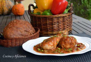 Muslitos de pollo al estilo Sudafricano «Inyama Yenkukhu», una receta muy sencilla y deliciosa.