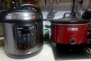 Los imprescindibles de mi cocina: la olla de cocción rápida y la olla de cocción lenta, apuntes.