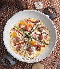 Tortipizza, una receta sencilla y rica.