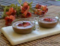 Mousse de chocolate negro con toque de ron, receta deliciosa