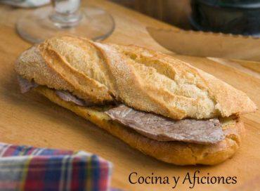 Pepito de ternera, receta del bocadillo más tradicional de España