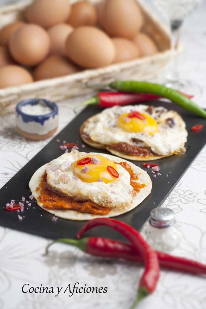 Tostas De Huevo Frito Receta Sencilla Cocina Y Aficiones