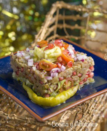 Tartar de atún o de bonito del Norte, receta muy fresca y deliciosa