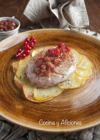 Tournedó de cordero con Patatas Maxim's, receta y apuntes sobre la carne de cordero
