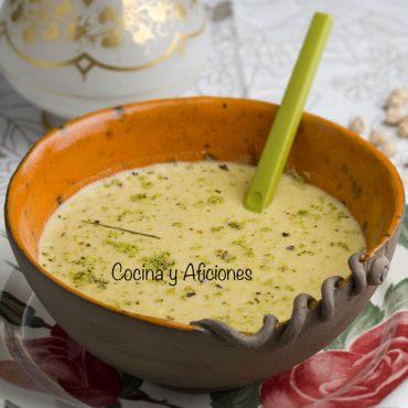 Crema de garbanzos, receta reconfortante