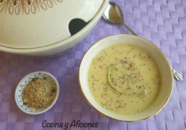 Crema de espárragos, receta de aprovechamiento