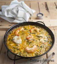 Caldereta de arroz y rape, receta deliciosa y fácil