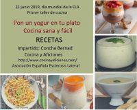 Recetas del taller «pon un yogur en tu plato»
