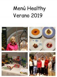 Menú Verano Healthy 2019