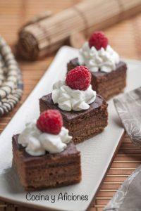 Pastelillos de chocolate, un postre delicioso