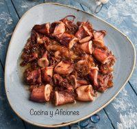 Calamares troceados al estilo Pelayo – receta literal de Berasategui.