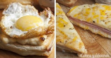 Croque monsieur et croque madame, los sándwiches mas famosos del mundo.