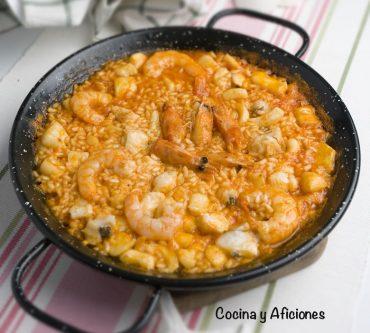 Paella marinera, receta para celebrar el día de la Comunidad Valenciana