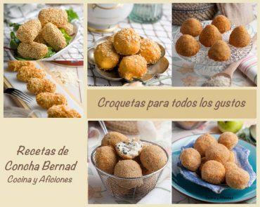 Croquetas: los «12 mandamientos croqueteros», cómo cocinarlas y obtener un resultado perfecto. Y las recetas de  la «bechamel blanca», «croquetas de caviar y langostinos», de «manzana y butifarra» y de los ricos «aranccinis sicilianos»
