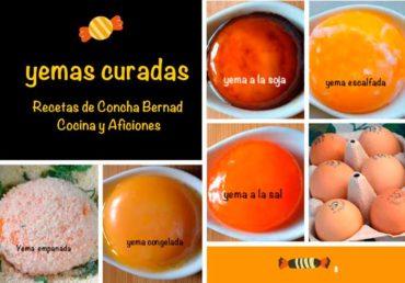 Yemas de huevo curadas y tratadas, apuntes y recetas para poner una delicia en tu mesa