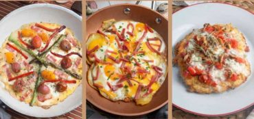 Papa-pizza; torti-pizza; mila-pizza,  recetas sencillas, diferentes y ricas.