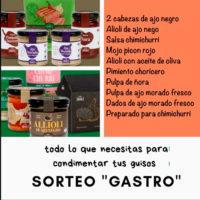 Súper SORTEO GASTRO EN INSTAGRAM,ajo negro y otras delicias
