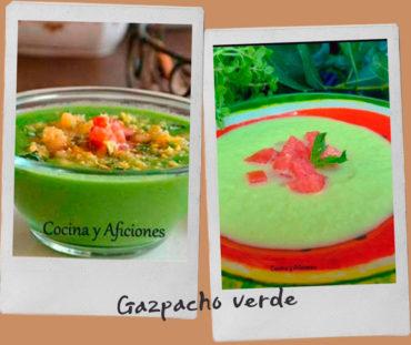 Gazpacho verde, receta paso a paso.