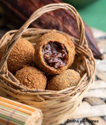 Croquetas de chocolate, una receta deliciosa y diferente
