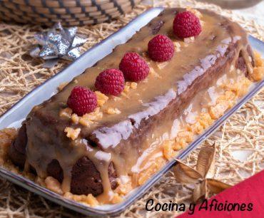 Brownie by salted caramel, un postre diferente y original.